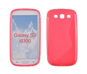 Gumové puzdro Samsung Galaxy S3 (i9300/i9301 Neo) ruzove vzor S