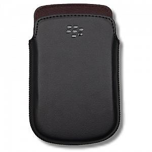 HDW-38844-001 BlackBerry kožené pouzdro Čierne (Bulk)