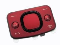 Horní Klávesnice Nokia 6700s Red