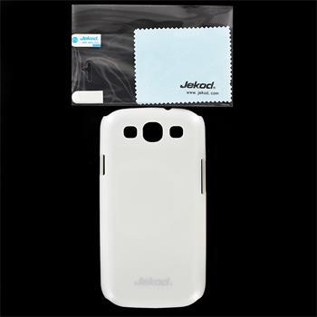 JEKOD Shiny Pouzdro White pro Samsung i9300 Galaxy S3