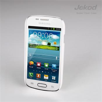 JEKOD Super Cool Pouzdro Biele pro Samsung i8190 Galaxy S3mini, S3 mini i8200 VE