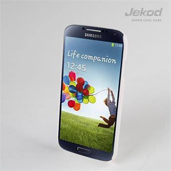 JEKOD Super Cool Pouzdro Biele pro Samsung i9500 Galaxy S4
