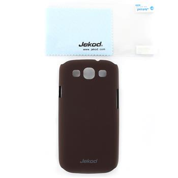 JEKOD Super Cool Pouzdro Brown pro Samsung Galaxy S3 (i9300/S3 i9301 Neo)