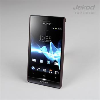 JEKOD Super Cool pouzdro Brown pro Sony Xperia Miro ST23i