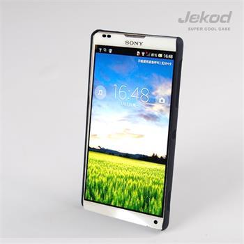 JEKOD Super Cool pouzdro Čierne pro Sony Xperia ZL C6503