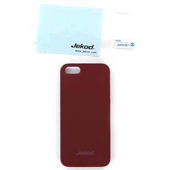 JEKOD Super Cool Pouzdro Red pro iPhone 5, 5S, SE