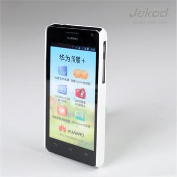 JEKOD TPU Ochranné Pouzdro Biele pro Huawei Ascend G600/Honor 2