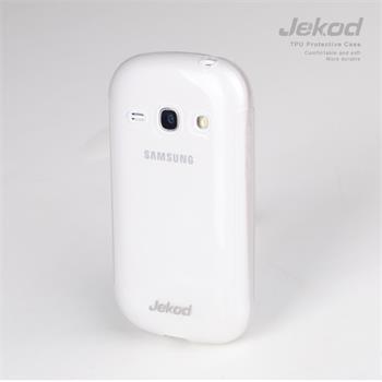 JEKOD TPU Ochranné Pouzdro Biele pro Samsung S6810 Galaxy Fame (2550008329502)
