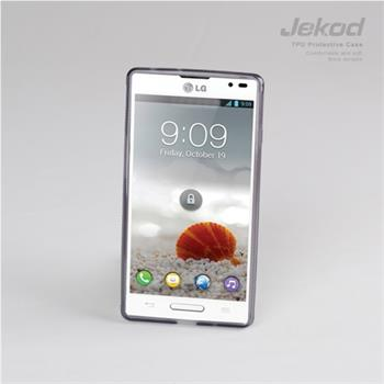 JEKOD TPU Ochranné Pouzdro Black pro LG P760 L9