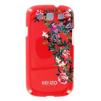 KENZO Exotic Red Zadní Kryt pro Samsung i9300 Galaxy S3 (EU Blister)