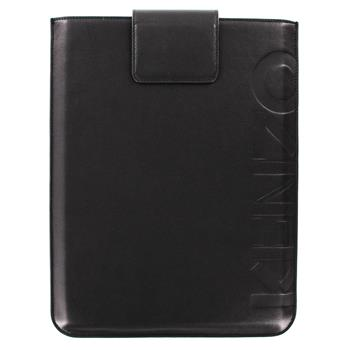 KENZO Kožené Pouzdro Logo Noir pro The New iPad (EU Blister)
