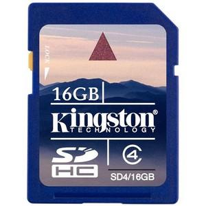 Kingston SDHC 16 GB Class 4 (SD4/16GB)
