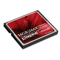 Kingston Ultimate Compact Flash Card 16 GB 266x (CF/16GB-U2)