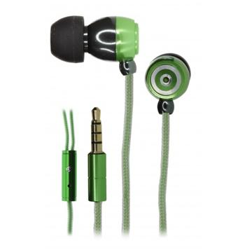 KitSound KS1 Stereo HF 3,5mm vč. Mikrofonu Green (EU Blister)