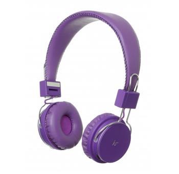 KitSound Manhattan Bluetooth Stereo HF Purple (EU Blister)