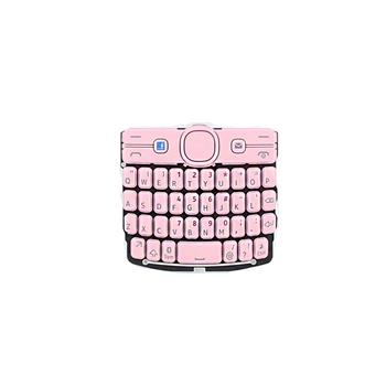 Klávesnice ENG Nokia Asha 205 Soft Pink