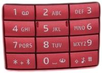 Klávesnice Nokia E66 numerická Red