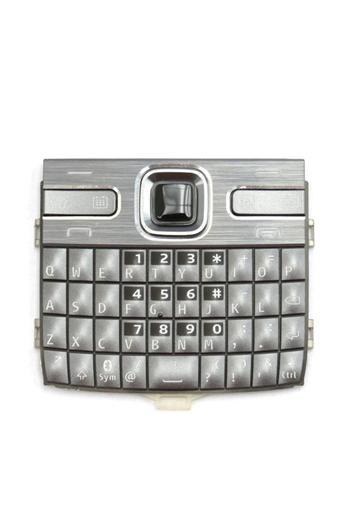 Klávesnice Nokia E72 Grey Anglická