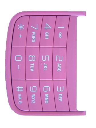 Klávesnice Numerická SonyEricsson W100i Pink