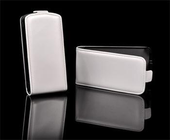 Knižkové puzdro Slim HTC Desire C, Biele