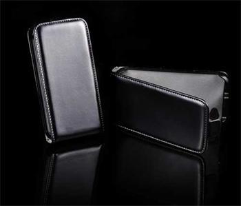 Knižkové puzdro Slim Samsung Galaxy Ch@t, B5330, Čierne