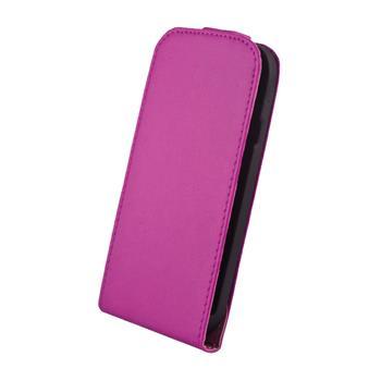 Kožené knižkové púzdro Elegance HTC Windows 8S fialove