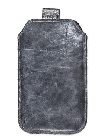 Kožené púzdro veľkosť 22 sivé s pásikom HTC One X, LG LT26i, Sam. I8530, Sony Xperia S, Samsung Galaxy Nexus, Samsung Galaxy S3, H