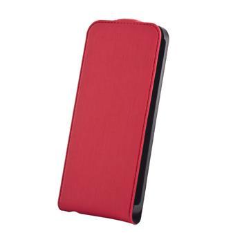 Koženkové knižkové púzdro SLIGO Premium Flip Sony Xperia J ST26i Červené