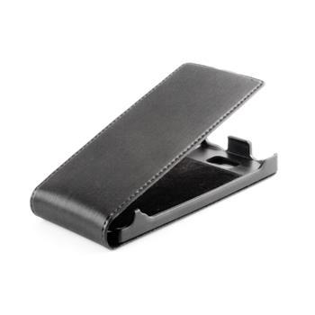 Koženkové knižkové púzdro SLIGO Premium Flip Sony Xperia Z C6603 Čierne