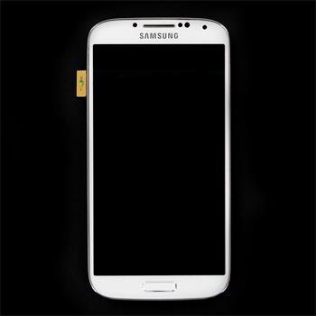 LCD display, Dotyk plus Přední kryt Samsung i9505 Galaxy S4 White