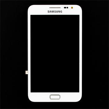 LCD Display + Dotyková Deska Samsung Note N7000 White