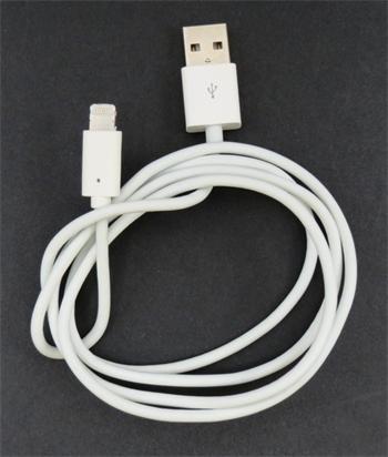 MD818 iPhone 5 Lightning Datový Kabel White (EU Blister)