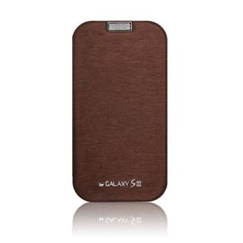 Mercury Techno Flip Pouzdro Brown pro Samsung N7100 Note2