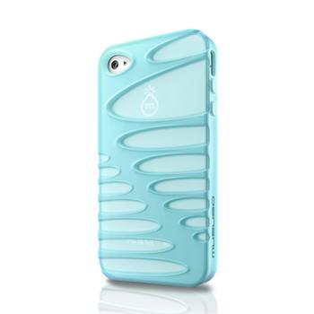 Musubo pouzdro Sexy pro Apple iPhone 4/4S Baby Blue (EU Blister)