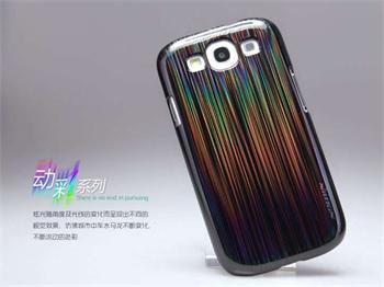Nillkin Dynamic Colors Zadní Kryt Black pro Samsung i9300 Galaxy S3