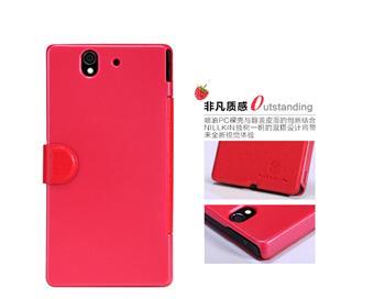 Nillkin Fresh Folio Pouzdro Red pro Sony C6603 Xperia Z