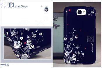 Nillkin Poyo Butterfly Flower 3D Zadní Kryt pro Samsung N7100 Note2 (EU Blister)