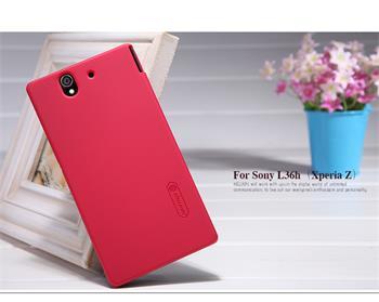 Nillkin Super Frosted Zadní Kryt Red pro Sony Xperia Z C6603
