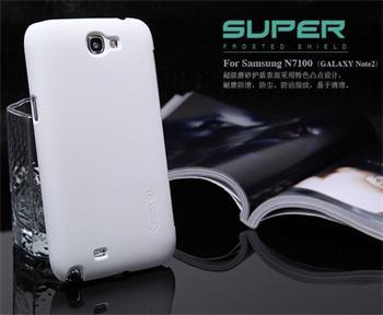 Nillkin Super Frosted Zadní Kryt White pro Samsung Galaxy Note2 N7100
