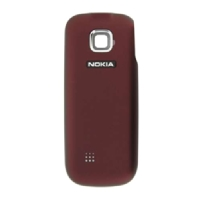 Nokia 2330c Deep Red Kryt Baterie