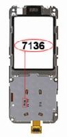 Nokia 6120c, 6121c deska klávesnice