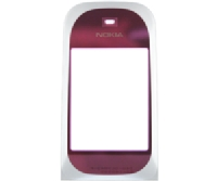 Nokia 7020 sklíčko displeje Pink