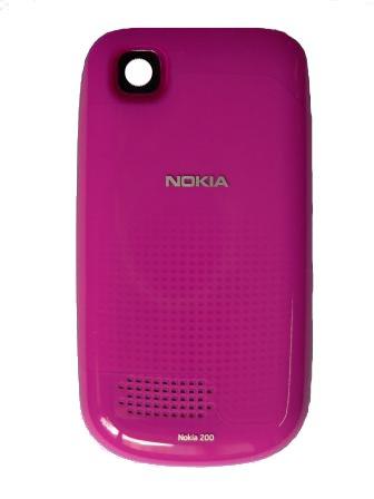 Nokia Asha 200 Pink Kryt Baterie