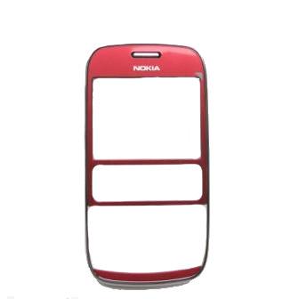Nokia Asha 302 Red Přední Kryt