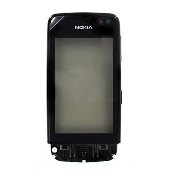 Nokia Asha 311 Graphite Přední Kryt vč. Dotyku