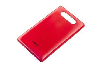 Nokia Lumia 820 Red Gloss Kryt Baterie