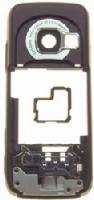 Nokia N73 střední kryt Deep Plum