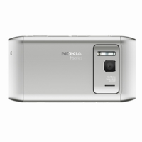 Nokia N8 Silver Kryt Baterie