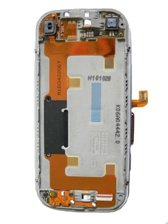 Nokia N97mini slide modul+flex kabel white
