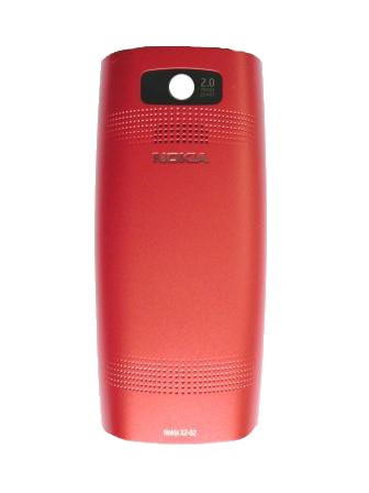 Nokia X2-02 Bright Red Kryt Baterie